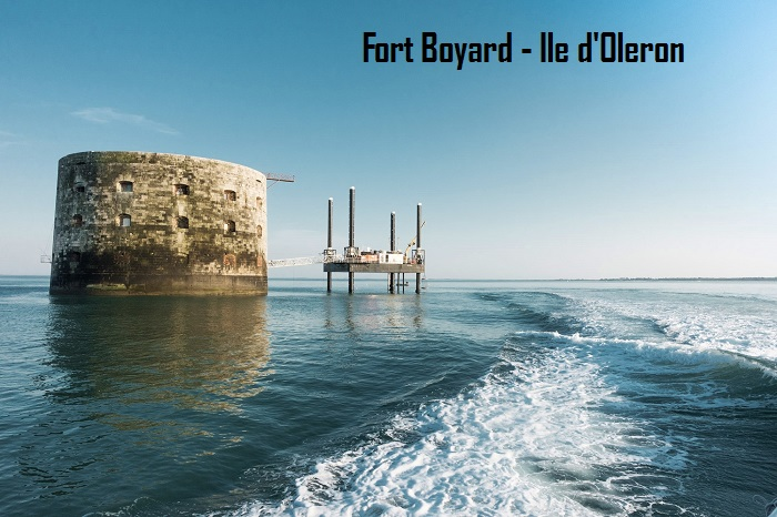 Fort Boyard close to Ile d'Oleron