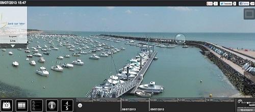 webcam-Jard-Sur-Mer-Harbour
