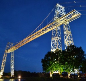 Rochefort-Martrou Transporter Bridge